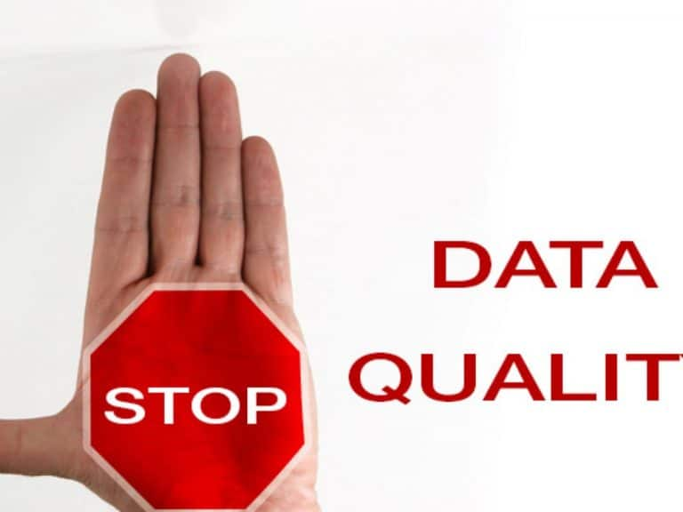 Stop Data Quality