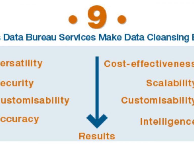 9 ways data bureau services make data cleansing easy