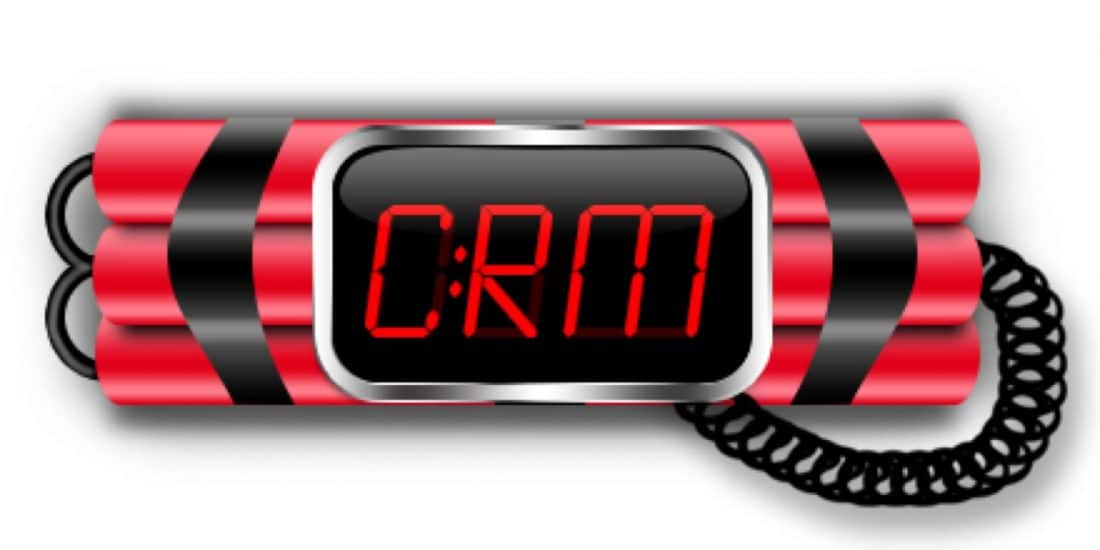 is the data in your crm a ticking time bomb