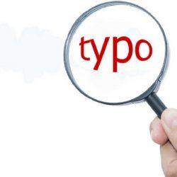 Data Typo