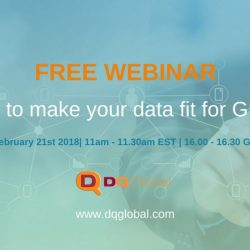 How to make your data fit for GDPR 2