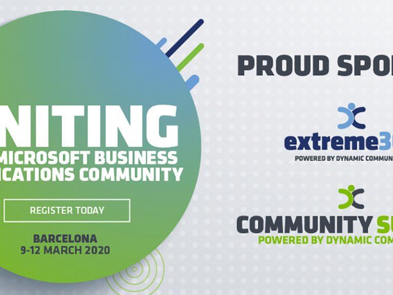 CommunitySummit extreme365 Europe 2020 Social ProudSponsor Twitter