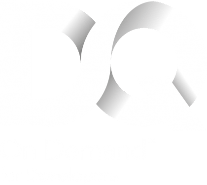 DQ On Demand Logo White