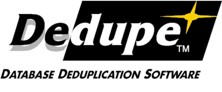 Dedupe software 2000 logo