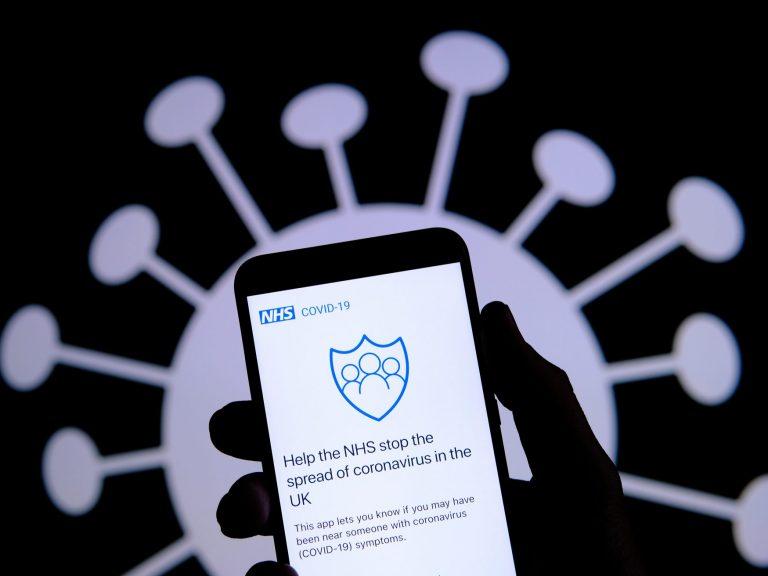 NHS app image